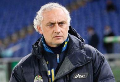Andrea Mandorlini: tra le prime ha vinto solo il Verona (Infophoto)