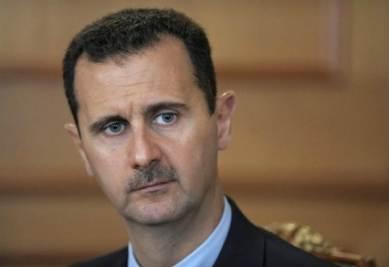 Il presidente siriano Assad (Infophoto)