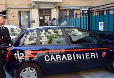 Un'auto dei carabinieri (immagine d'archivio Infophoto)