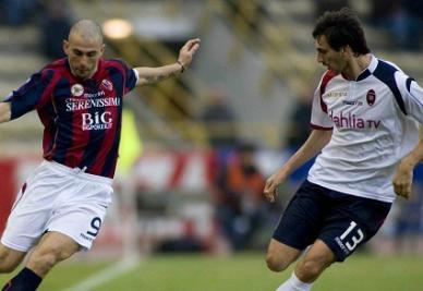 Bologna-Cagliari: all'andata fu 1-1 (INFOPHOTO)