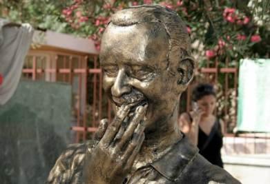 Monumento al giudice Borsellino, foto Infophoto