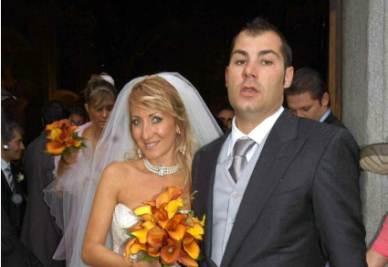 Riccardo Bossi il giorno del suo matrimonio (Foto: InfoPhoto)