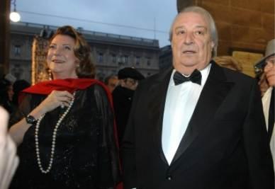 Diana Bracco e Roberto De Silva (InfoPhoto)