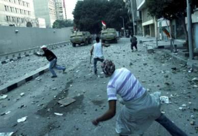 Scontri di piazza al Cairo
