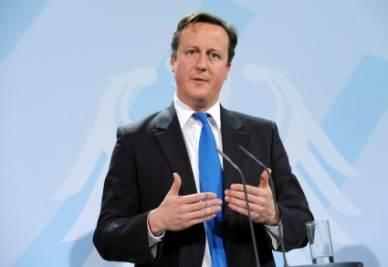 Il premier britannico David Cameron (InfoPhoto)