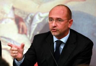Ugo Cappellacci, presidente Regione Sardegna (foto Infophoto)