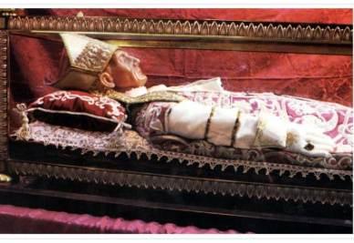 La tomba di san Celestino