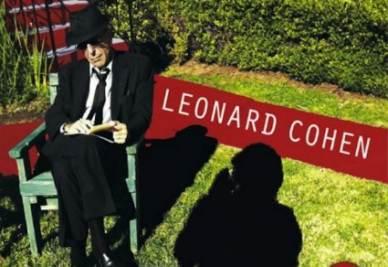 La copertina del nuovo disco di Leonard Cohen