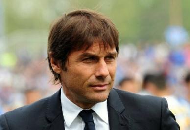 Il tecnico juventino Antonio Conte (Infophoto)