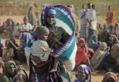 Il campo profughi di Dadaab (InfoPhoto)
