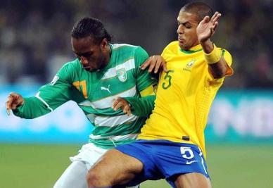 Didier Drogba, capitano Costa d'Avorio (Infophoto)
