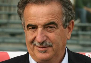 Emiliano Mondonico, allenatore Novara (Infophoto)