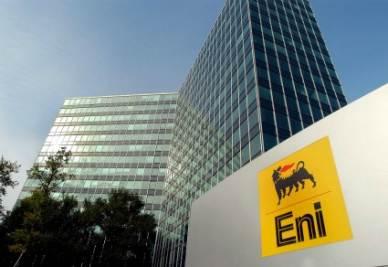 Eni, una delle aziende interessate dalla golden share (Infophoto)