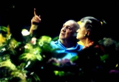 Federico Fellini e Giulietta Masina (InfoPhoto)