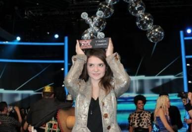 La vincitrice di X Factor 5, foto InfoPhoto