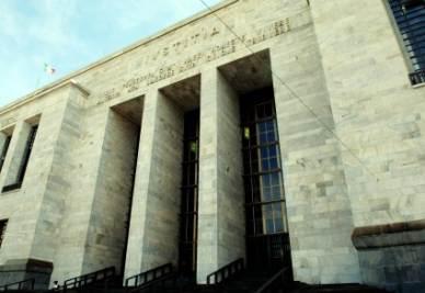 Il palazzo di giustizia di Milano (InfoPhoto)