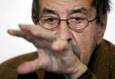 Il Nobel tedesco Günter Grass (InfoPhoto)