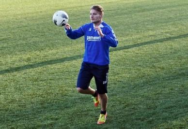 Ciro Immobile guiderà l'attacco del Pescara contro il Vicenza (INFOPHOTO)