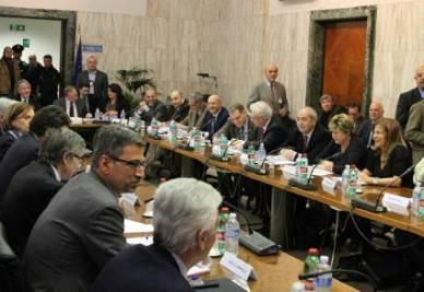 Incontro Governo-Parti Sociali (Foto: Infophoto)