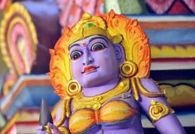 Un dio indù, foto Infophoto