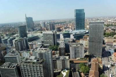 Vista aerea di Milano (InfoPhoto)