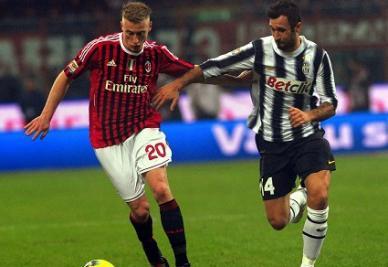 Quarto scontro diretto tra Juventus e Milan quest'anno (INFOPHOTO)