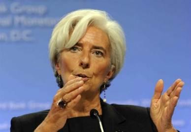 Il presidente del Fmi, foto Infophoto