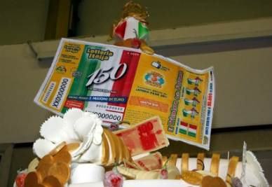 La Lotteria Italia - Infophoto