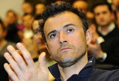 Luis Enrique, attuale allenatore della Roma, probabile successore di Guardiola (INFOPHOTO)
