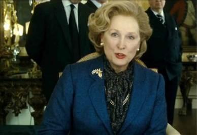 Maryl Streep è Margaret Thatcher (Infophoto)