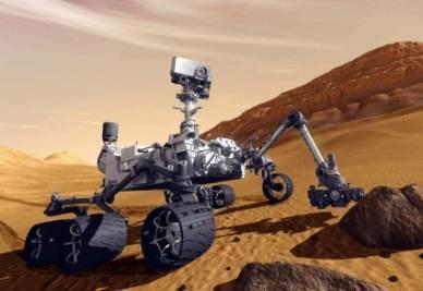 L'origine del metano su Marte (Foto InfoPhoto)