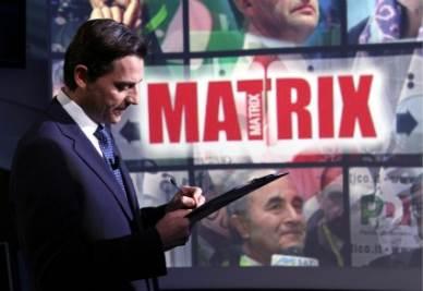 Alessio Vinci conduttore di Matrix (Foto Infophoto)