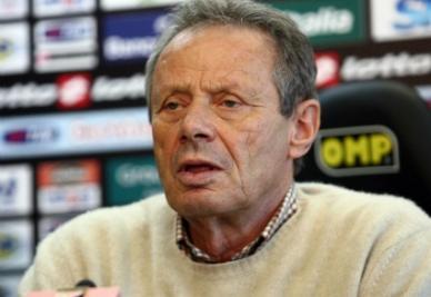 Maurizio Zamparini, Mutti a rischio in caso di sconfitta? (Infophoto)