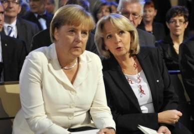 Angela Merkel e Hannelore Kraft (InfoPhoto)
