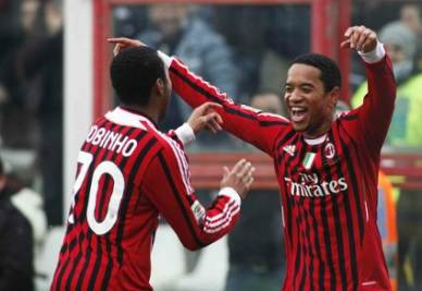 L'olandese del Milan Urby Emanuelson (Foto: Infophoto)