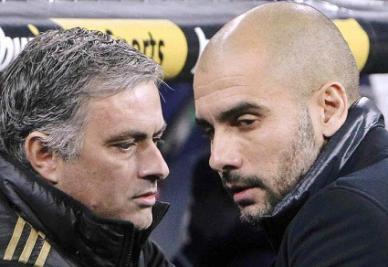 Mourinho e Guardiola (Infophoto)