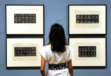 Opere di Eadweard Muybridge in mostra
