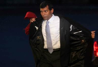 Mohamed Nasheed (Infophoto)