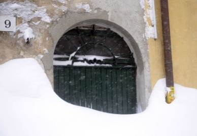 Neve alta in Abruzzo (InfoPhoto)