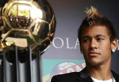 Neymar, neo pallone d'oro sudamericano (INFOPHOTO)