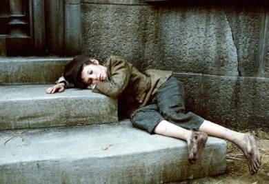 la versione cinematografica di Oliver Twist, foto Infophoto