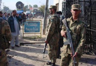 Soldati pachistani, foto Infophoto