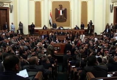 La prima riunione del Parlamento egiziano del dopo-Mubarak - Infophoto