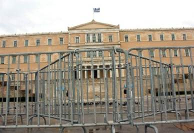 Greek Parliament   (Infophoto)