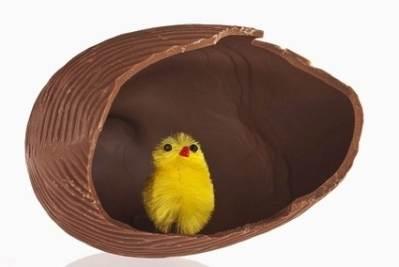 Il tradizionale uovo di cioccolato