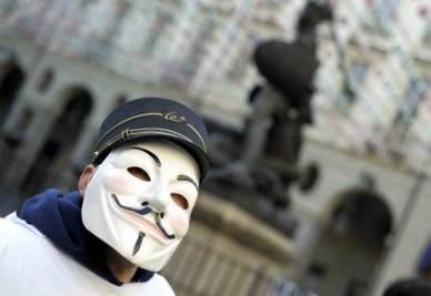 Torino, manifestazione dei lavoratori della Wagon-Lit (InfoPhoto)
