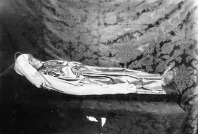 Il corpo di Santa Rosa da Viterbo