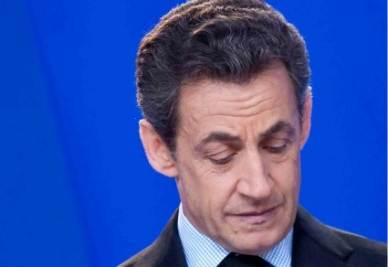 Il presidente francese Nicolas Sarkozy (InfoPhoto)