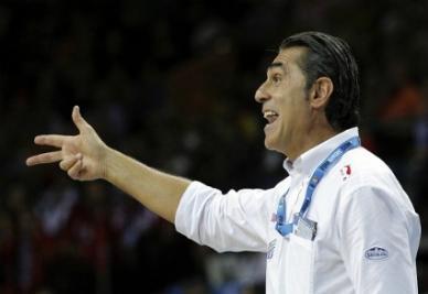 Sergio Scariolo, allenatore dell'Olimpia Milano (foto Infophoto)