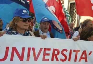Manifestazione sindacale (InfoPhoto)